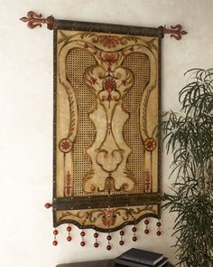"""""""Anthemia"""" Beige Tapestry at Horchow.  DIY"""