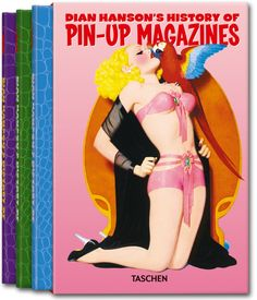 Dian Hansons History of Pin-up Magazines Vol. 1-3. TASCHEN Books (TASCHEN 25 Edition)