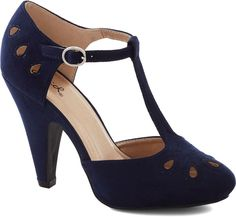 Dynamic Debut Heel in Navy on shopstyle.com.au