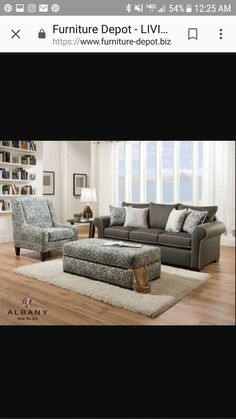 Furniture Depot, Open Concept, Dining Room, Couch, Home Decor, Settee, Decoration Home, Sofa, Room Decor