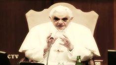 Evil Pope alien vatican molesting children eating kids reptilian draconian