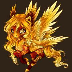 Aywas PBC - Fire pony by Daffupanda on DeviantArt
