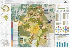 Şehir ve Bölge Planlama Bölümü Öğrenci Projelerinden Örnekler Urban Design Diagram, Site Analysis, Land Use, Master Plan, Urban Planning, Vintage World Maps, 1, How To Plan, Landscape