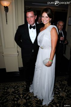 HRH Princess Madeleine and Mr. ONeill