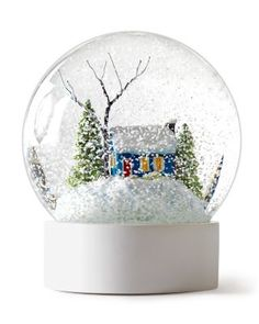 Snow Globe designed by Real Simple  Garnet Hill