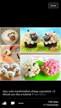 How cute are these cupcakes!
