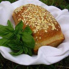 This hearty, herb bread makes any sandwich a little more exciting! Use dried tomatoes, not tomatoes that are reconstituted and packed in oil. Sun Dried Tomato Bread, Dried Tomatoes, Herb Bread, Bread And Pastries, Pastry Recipes, How To Make Bread, Allrecipes, Salmon Burgers, Basil
