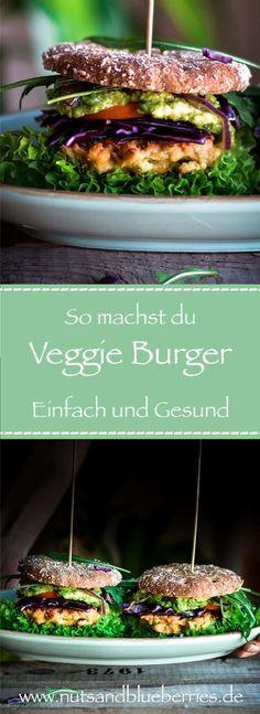 Mr. Und Mrs. Kichererbsen Burger   Nutsandblueberries