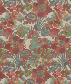 Robert Allen Fog Island Fuchsia Fabric