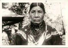 Ee-ya-tsi (aka Sawin Coffee-Bowlegs) the mother of George Bowlegs and Goldie Bowlegs - Caddo - no date