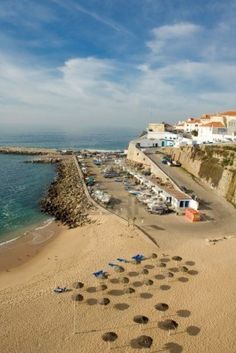 Playa pueblo pesquero de Ericeira, Portugal