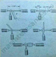 Vea los tipos de empalmes eléctricos     Unión Western      Unión Doble Vuelta      Unión Británica      Derivación con Amarre de Seguridad ...