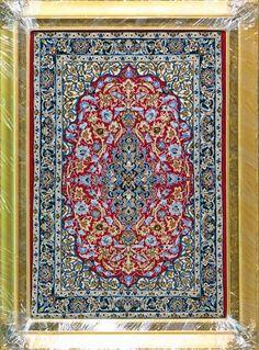 "Buy Esfahan Persian Rug 2' 4"" x 3' 4"", Authentic Esfahan Handmade Rug"