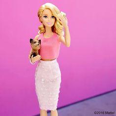 WEBSTA @ barbiestyle - It's #NationalPinkDay! Celebrating my favorite color.  #barbie #barbiestyle