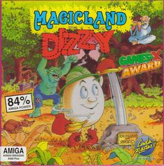 Magicians Dizzy - Amiga 500 Retro Video Games, Video Game Art, Best Memories, Arcade Games, The Magicians, Videogames, Board Games, Character Art, Childhood