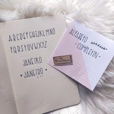 Letra para Planner ou Bujo | by Aline Albino https://youtu.be/rMvEoJ6oQYs #planner #bulletjournal #bujo #alfabeto #letraplanner