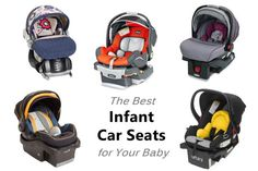 Expecting a baby? The infant car seat is one of the most important baby products you'll buy! These infant car seats have a range of safety and convenience features.