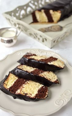 Metrowiec Sweets, Bread, Snacks, Chocolate, Baking, Recipes, Polish, Cakes, Food