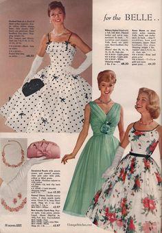 Fashion Tips And Tricks .Fashion Tips And Tricks 50s Dresses, Vintage Dresses, Vintage Outfits, Vintage Prom, Vintage Stuff, Vintage Clothing, 1960s Fashion, Vintage Fashion, Fashion Women