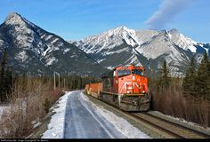 RailPictures.Net Photo: CN 2235 Canadian National Railway GE ES44DC at Jasper, Alberta, Canada by Tim Stevens