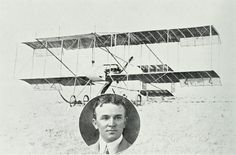 William Ewart Hart, First Australian Aviator, Born Parramatta, NSW, April 20, 1885