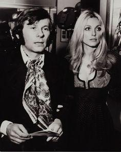 Roman Polanski and Sharon Tate!