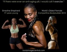 She's 70! This is inspiring.   #nevertooold