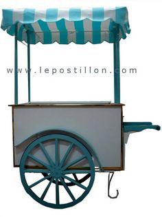 Ice cream cart - Charrette à glace - Carretto gelati - Eiswagen