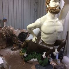 Restored by Mainmast Conservation and painted by Sarah J Brown in 2019 Sarah J, Centaur, Second Child, Art School, Painters, Conservation, Screen Printing, Carving