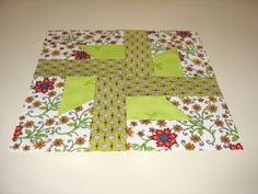 """A traditional block pattern called """"Pudding and Pie."""" Pieced by Pam Wilson in October 2014."""