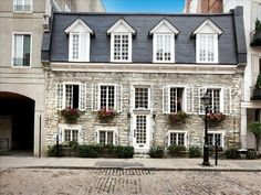 La Maison Dumas - One of the most fabulous places we've stayed.   Heart of Old Montreal