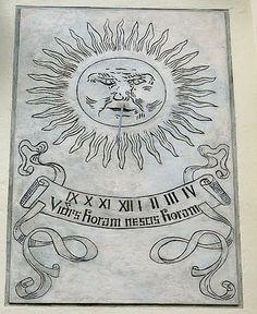 File:Willa Tekielskiego, Pod Kasztanami, zegar, sgrafitto.jpg