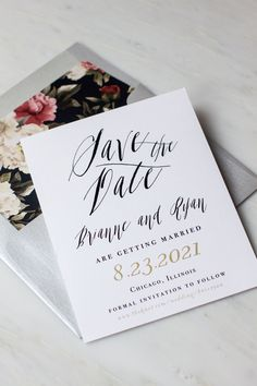 Save the Date | Beacon Lane | As Seen on TodaysBride.com