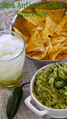 AUTHENTIC SPICY GUACAMOLE ~ This guacamole is truly a winner and has won 1st place in our test kitchen by far. If you like guacamole this is a must try!
