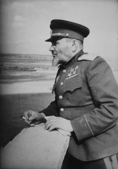 The Hero of the Soviet Union (twice), Major-General Kovpak Sidor Artemyevitch (1887-1967), a participant of the WWII (partisan leader).