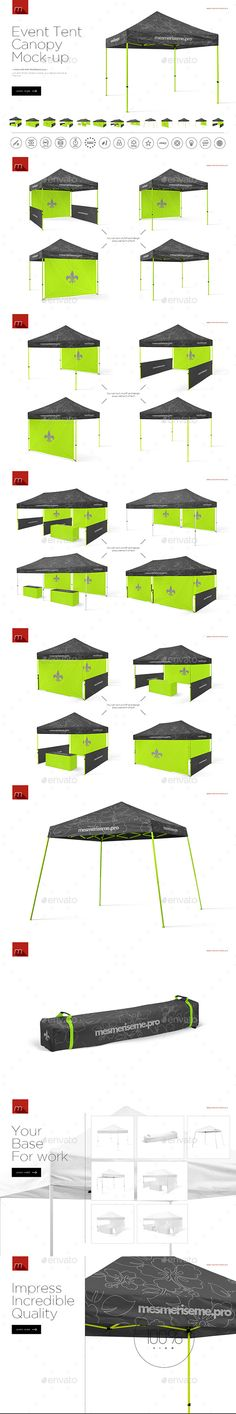 Event Tent Canopy Mock-up. Download here: https://graphicriver.net/item/event-tent-canopy-mockup/17454404?ref=ksioks