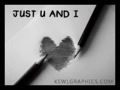 Just U and I Heart Graphic plus many other high quality Graphics for your Facebook profile at KewlGraphics.com.