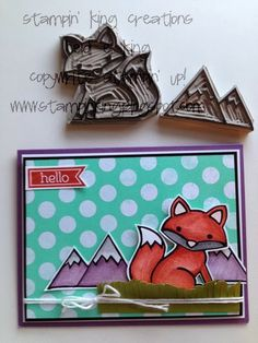 Cutest SU Undefined stamp I have seen http://stampinking.blogspot.com  Heidi King