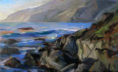Joe Forkan - Big Sur, Noon Looking North (2009)