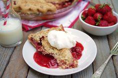 Recipe for strawberry-streusel pie