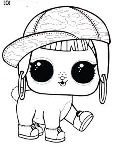 Lol Surprise Doll Coloring Pages Bunny Hun Coloring Page