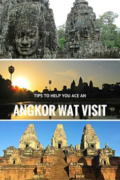 TIPS TO HELP YOU ACE AN ANGKOR WAT VISIT- Siem Reap, Cambodia                                                                                                                                                                                 More