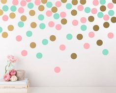 Polka Dot Wall Decals - Cute Modern Decor :)