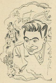 Robert Francis par Soupault, Charivari 1933.