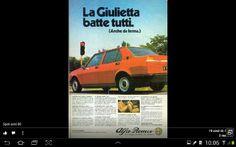 Alfa Romeo Giulietta - adv