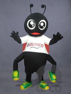 Botargas de Animales: INSECTOS Catarina para Zapateria ¡Conoce más modelos de botargas de animales e insectos aquí!: http://www.grupoarco.com.mx/venta-de-botargas/botargas-de-animales-en-mexico/
