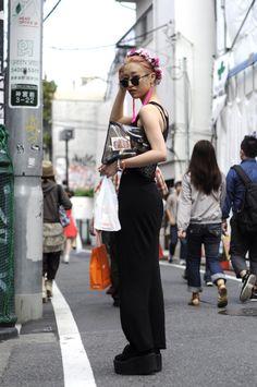 ICCHO STYLE BLOG -TOKYO STREET FASHION MAGAZINE -: 福田結衣 -Persuasive power-