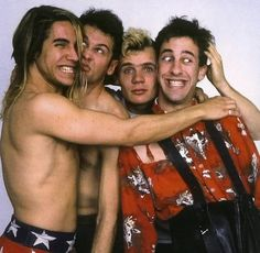Red Hot Chili Peppers, 1984