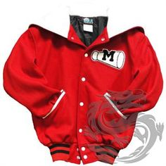 McKinley High School Varsity Jacket, VSA custom apparel, cheerleader jacket, Cheerio