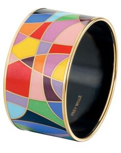 Frey Wille Enamel Bangle